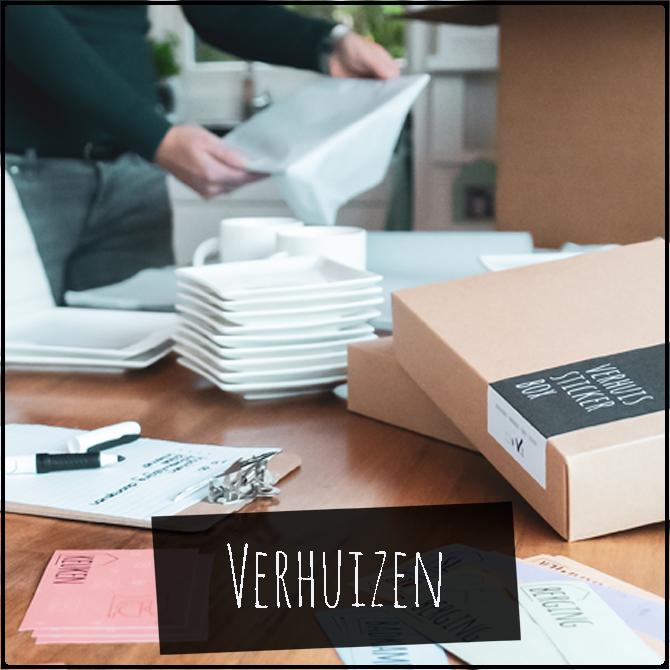 HOUSZ Verhuisstickerbox