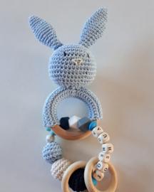 Rammelaar konijn met naam
