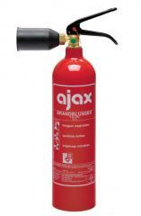 Ajax koolzuursneeuwblusser 2 kg, type MC2