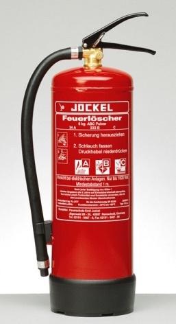 Jockel poederblusser 6 kg, type P6J