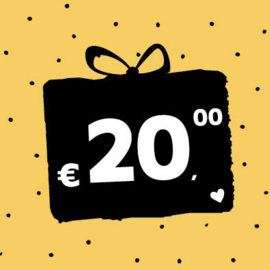 Cadeaubon € 20,-