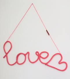 Punnikwoord 'love' (meer kleuren)