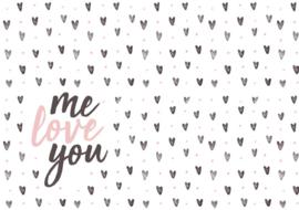 Me love you