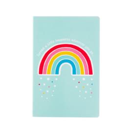 Schriftje regenboog