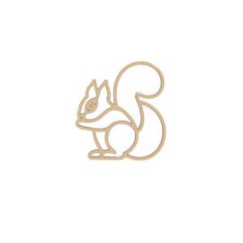 Plintdier eekhoorn