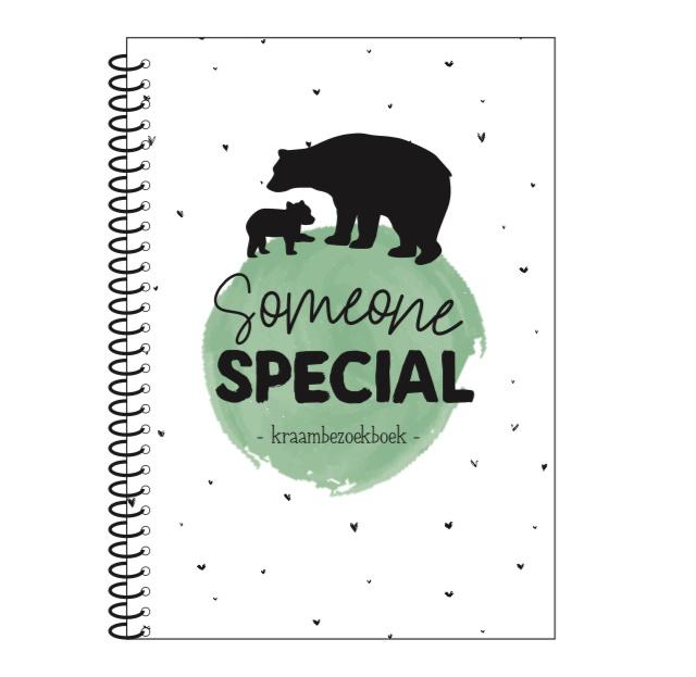 Someone special - kraambezoekboek (licht beschadigd)