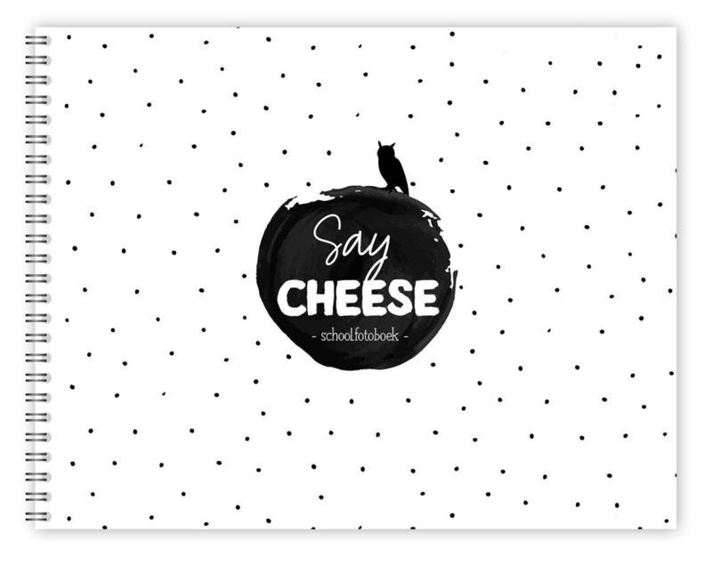 Say cheese - schoolfotoboek groot (hardcover)