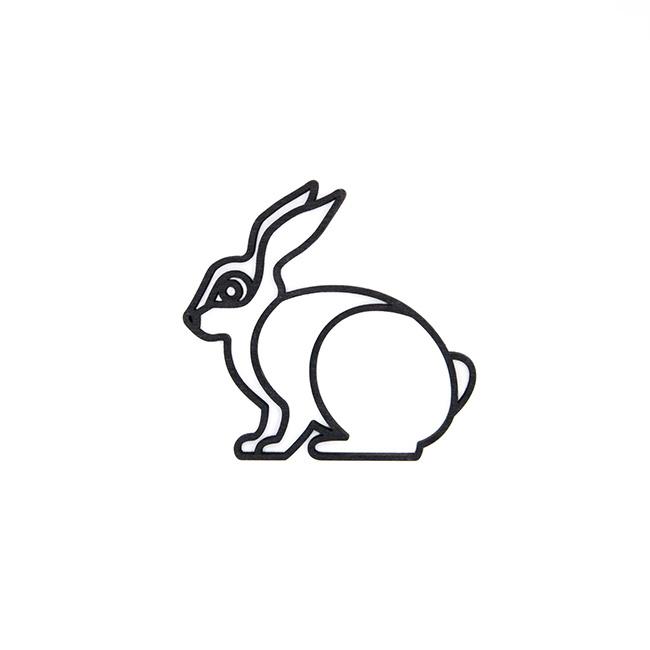 Plintdier konijn