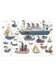 Kek Amsterdam - Poster Holland Amerika Lijn