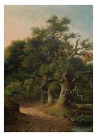 Fotobehang Golden Age Landscapes - 194,8 x 280 cm - KEK Amsterdam