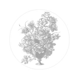 Behang Engraved Flowers X