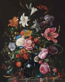 Behangpaneel Golden Age Flowers - 142,5 x 180 cm - KEK Amsterdam