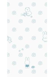Kek Amsterdam - Behang Miffy Flowers Blue