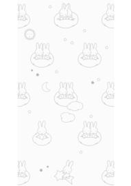 Kek Amsterdam - Behang Miffy Clouds Grey