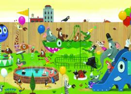 Kek Amsterdam - Fotobehang Playground - 389,6 x 280 cm