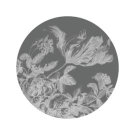 Behang Engraved Flowers VIII