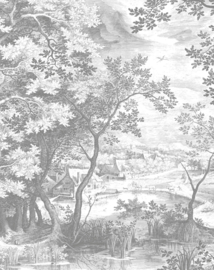 Behang Engraved Landscapes VIII