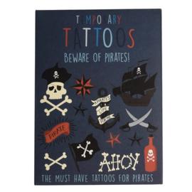 Piraten tijdelijke tattoos