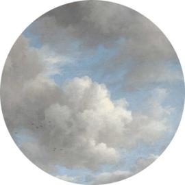 Behangcirkel Golden Age Clouds - diameter 190 cm - KEK Amsterdam