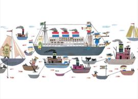 Fotobehang Holland America Line