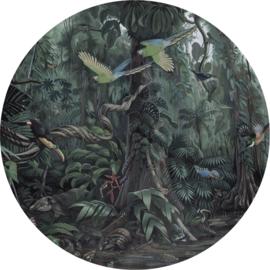 Behangcirkel Tropical Landscapes - diameter 237,5 cm - KEK Amsterdam