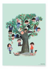 Poster apple tree Kek Amsterdam