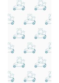 Kek Amsterdam - Behang Miffy Cars Blue