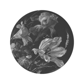 Behangcirkel Golden Age Flowers - diameter 142,5 cm - KEK Amsterdam