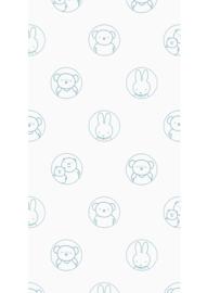 Kek Amsterdam - Behang Miffy Portraits Blue