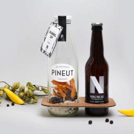 Dubbelop Fles 750 ml - Pineut