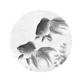 Behangcirkel Goldfish - diameter 142,5 cm - KEK Amsterdam