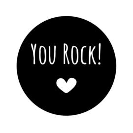 You Rock! | Pluimpjes magneet