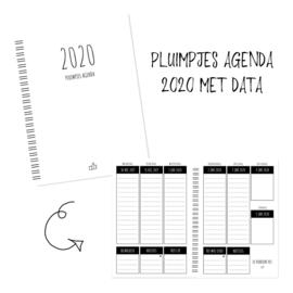 Pluimpjes Agenda 2020 (A5 formaat, met data)