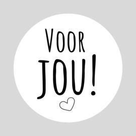 Voor jou! Stickers | 10 stuks