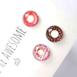 Kaartenhouder magneet | Orb donuts setje