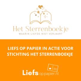 In actie voor Stichting Het Sterrenboekje