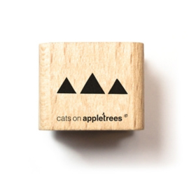 Stempel Driehoekjes (Cats on Appletrees)