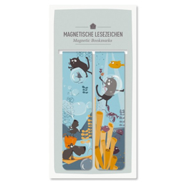 Magnetische boeklezer | water serie