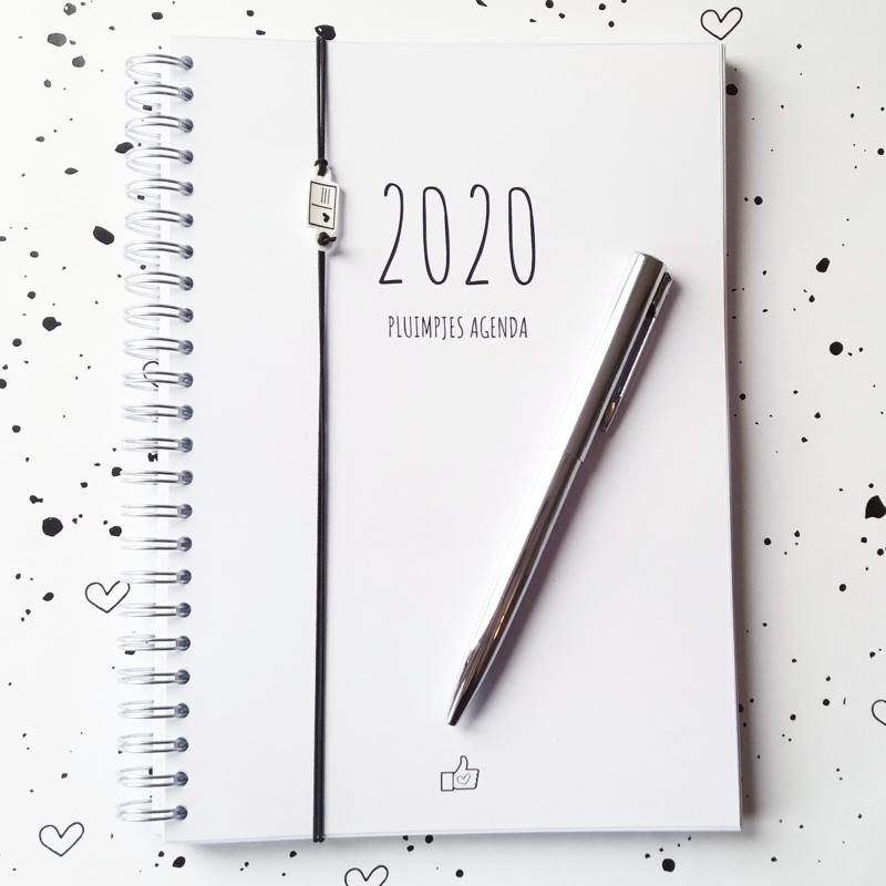 PRE-ORDER Pluimpjes Agenda 2020 (A5 formaat, alleen met data)