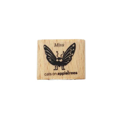 Stempel Vlinder Mira