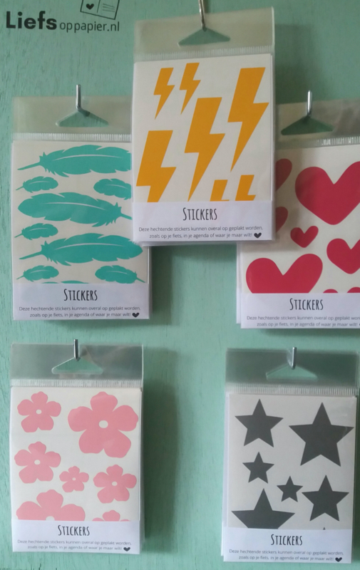 Stickers Ster Zilver