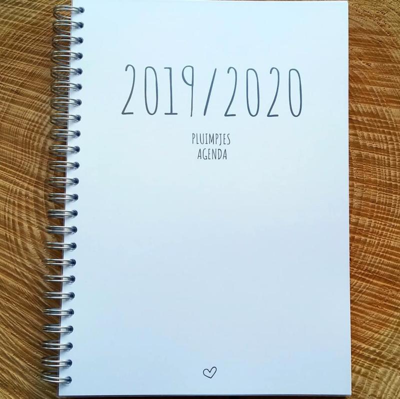 Pluimpjes (school)agenda 2019-2020 (A5, met data)