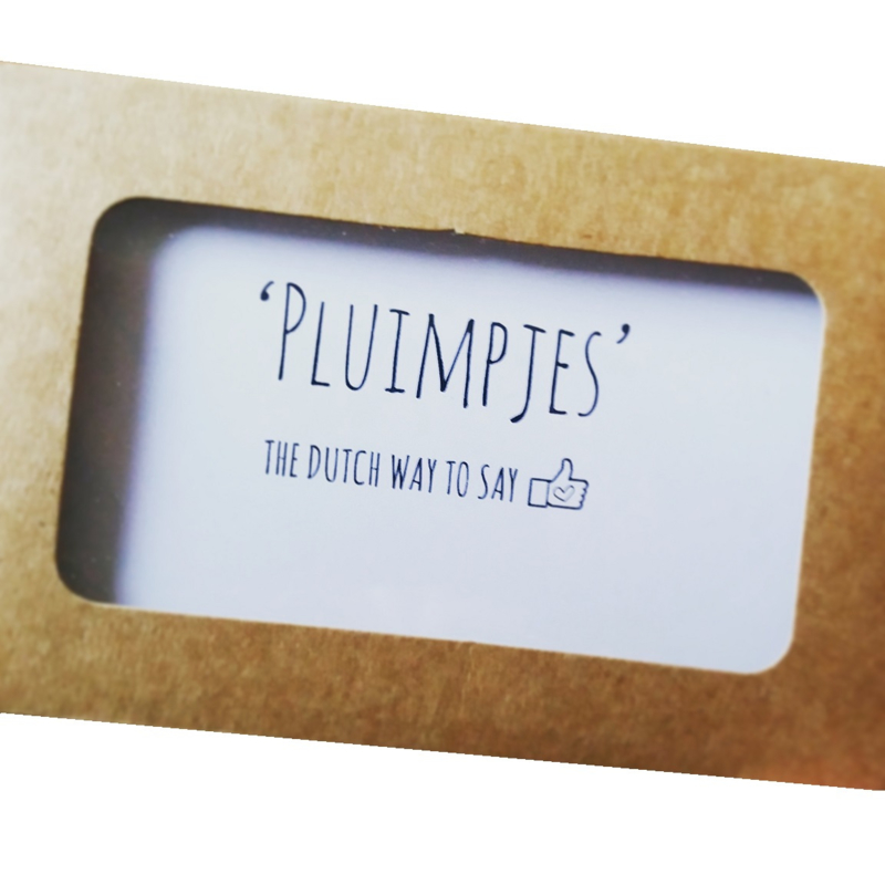 The Dutch way to say Pluimpjes!