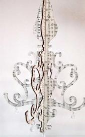 Kandelaar Muzieknoten