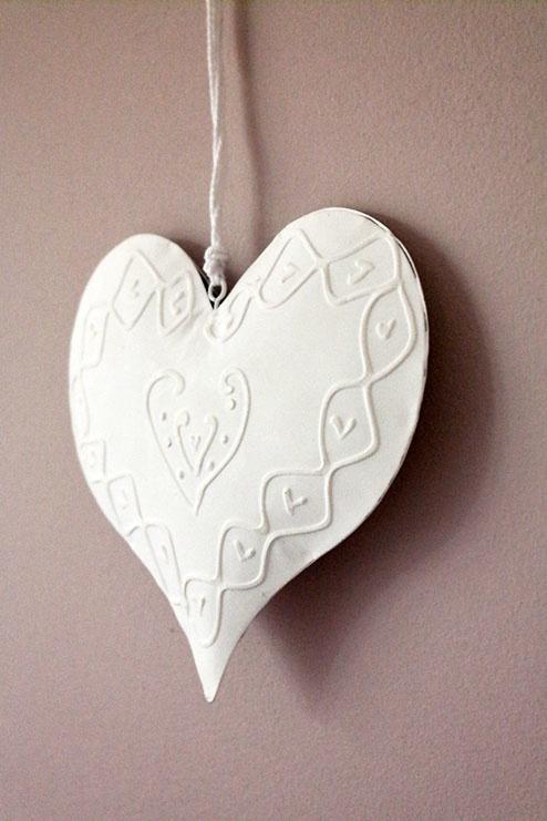 Witmetalen hart