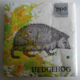 Servetten Autumn Hedgehog