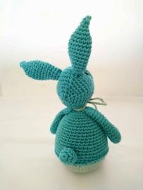Tuimelaar konijn koraalblauw