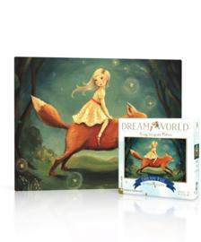 Dream World mini puzzel vos (20 stukjes)