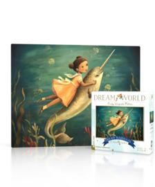 Dream World mini puzzel narwal (20 stukjes)