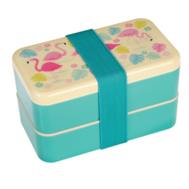 Bento-box Flamingo voor volwassenen